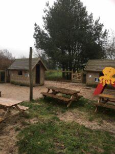 Legepladsen hvor vuggestuen leger